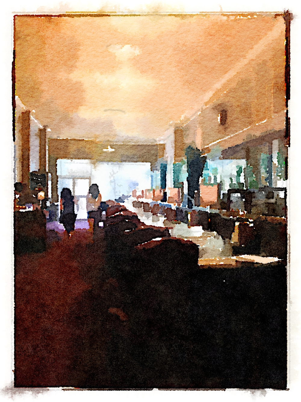 Bar Perspective 2 Art Print
