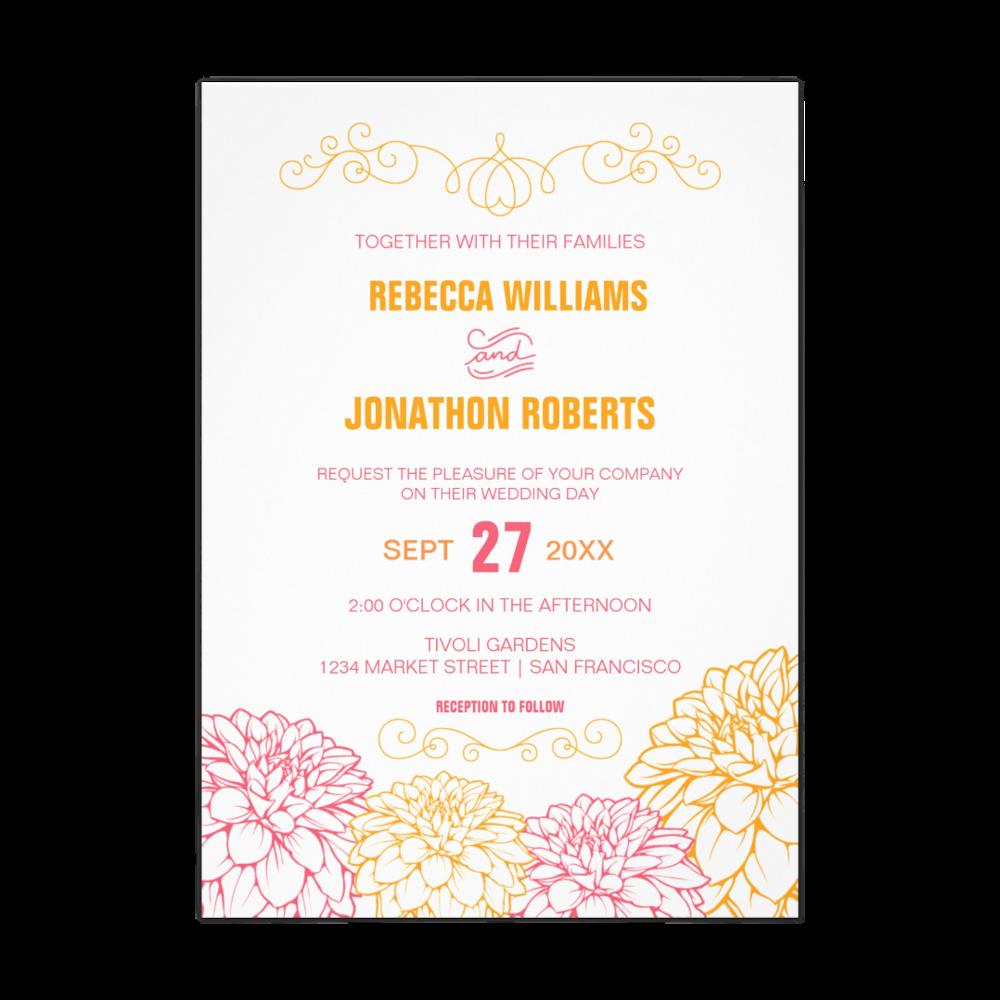 Dahlia Wedding Suite