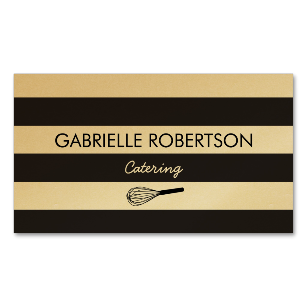 Whisk Catering Card
