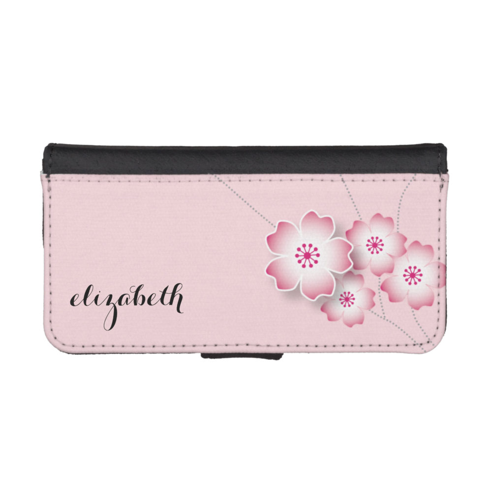Cherry Blossom Smartphone Wallet