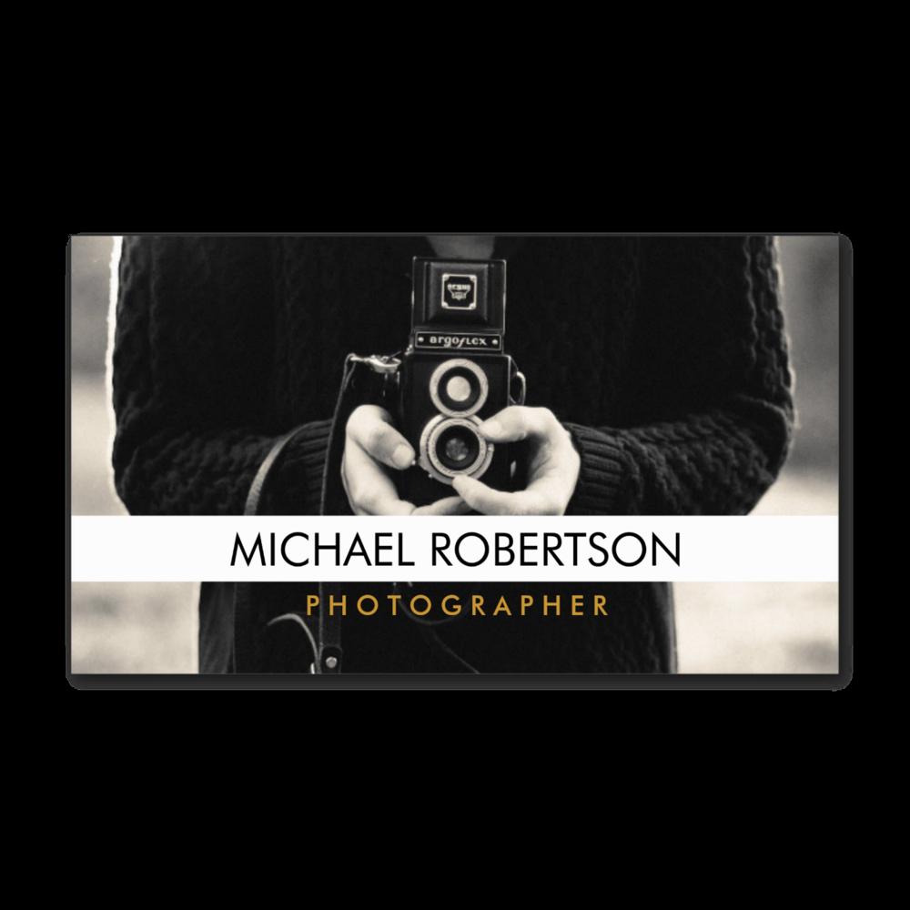 Vintage Camera Photographer