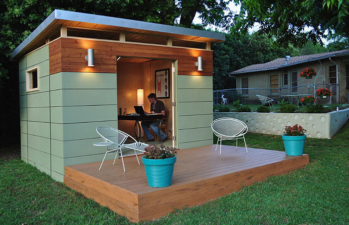 This example is made by Kanga Room out of Austin, Texas