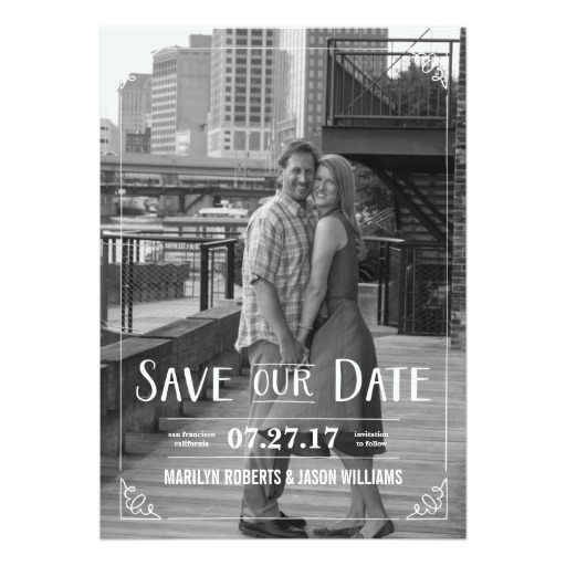 Custom Photo Invitation