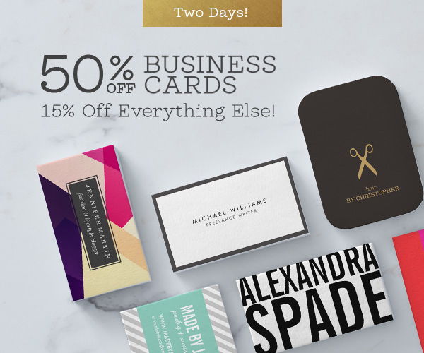 2 day sale 50 off business cards 15 off everything else 2 day sale 50 off business cards 15 off everything else colourmoves