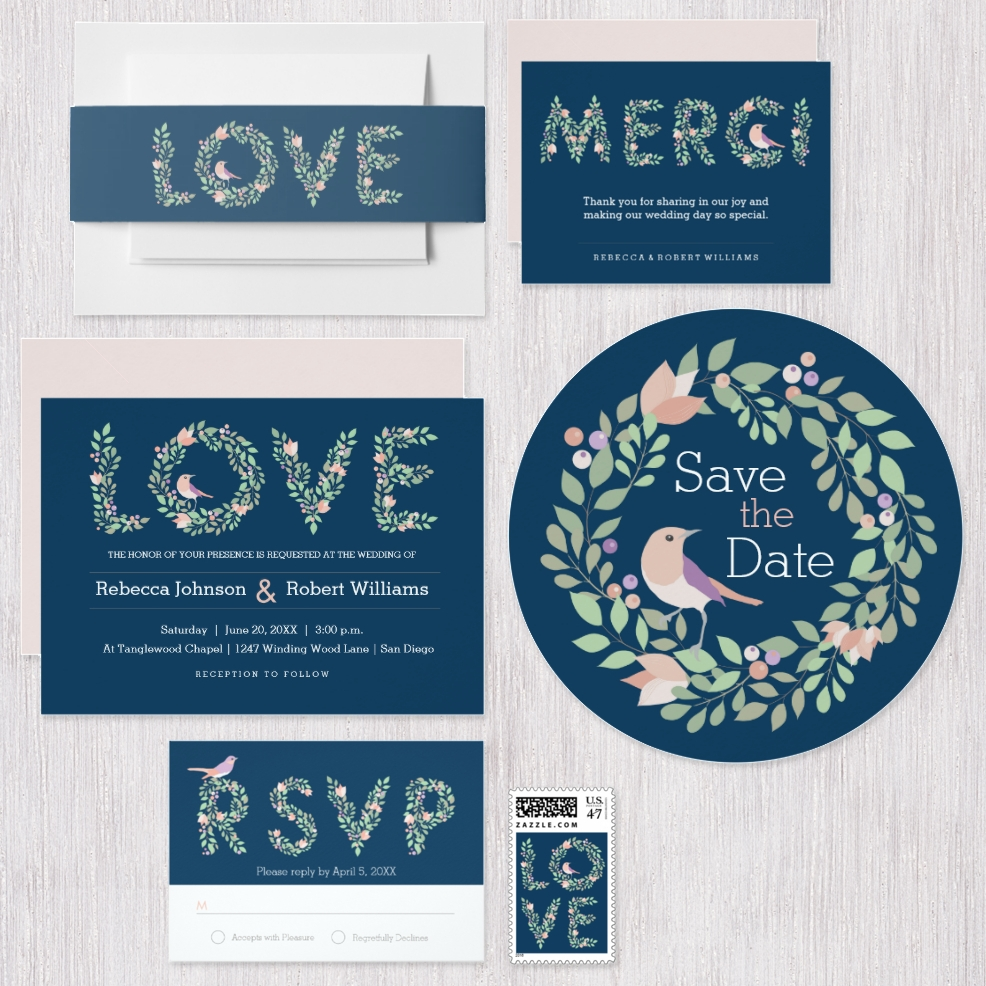 Love Birds & Letters Collection