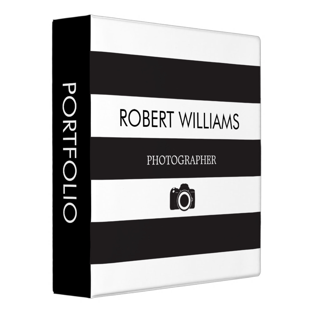 Photography Binder