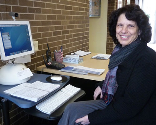Paula Shea, Receptionist