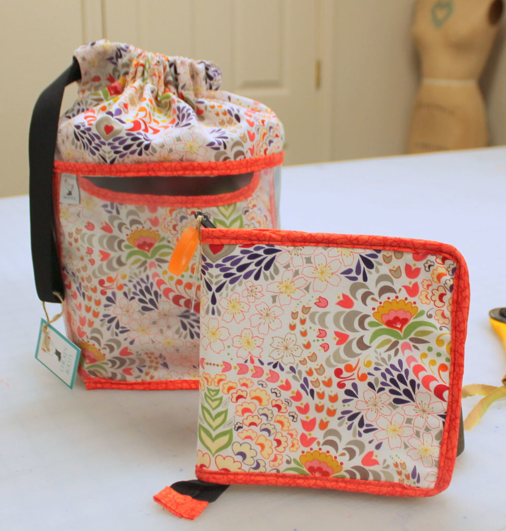 The Double Double and Single Case in floral from Chicken Boots