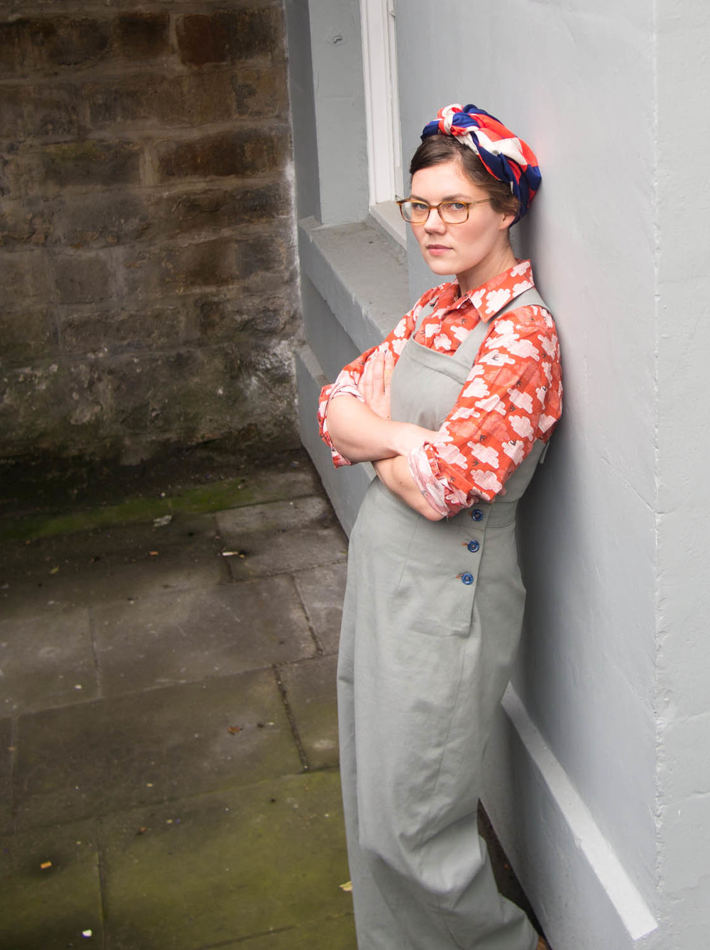 Forties dungarees