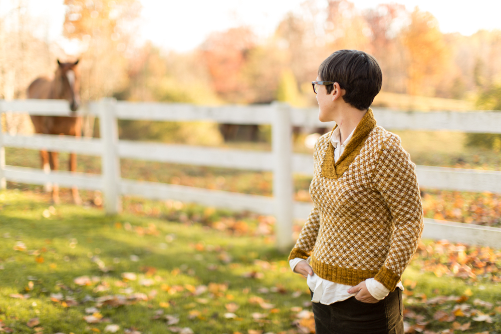 Aunt Fred by Pamela Wynne from The Rhinebeck Sweater