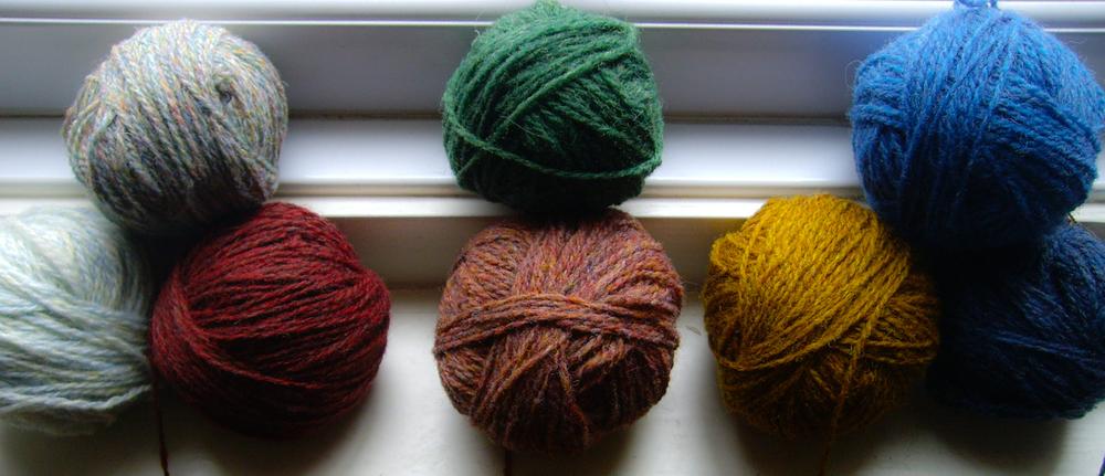 Tasty balls of Hebridean 2-ply