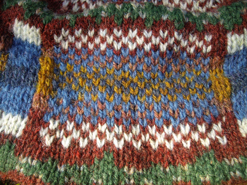 Oops, not the colourwork of my dreams