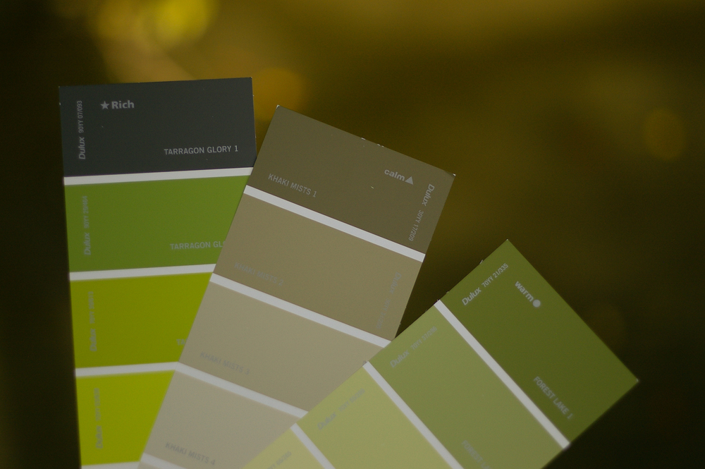 Forest Lake, Khaki Mist or Tarragon Glory?
