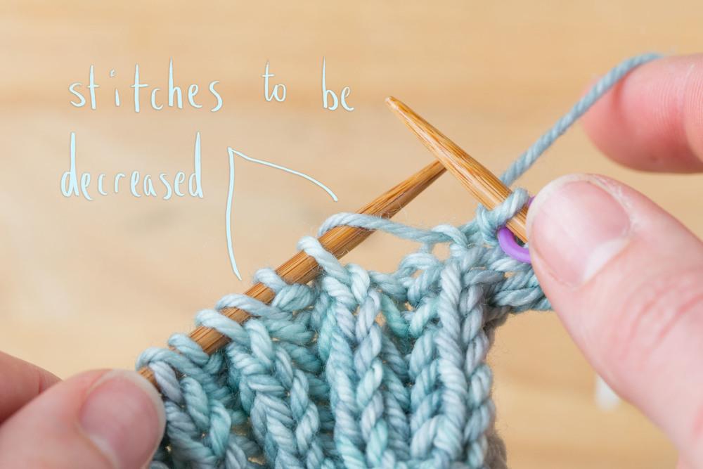 Knitting Yarn Over Purl Stitch : Polwarth Triangle Tutorial   Ysolda