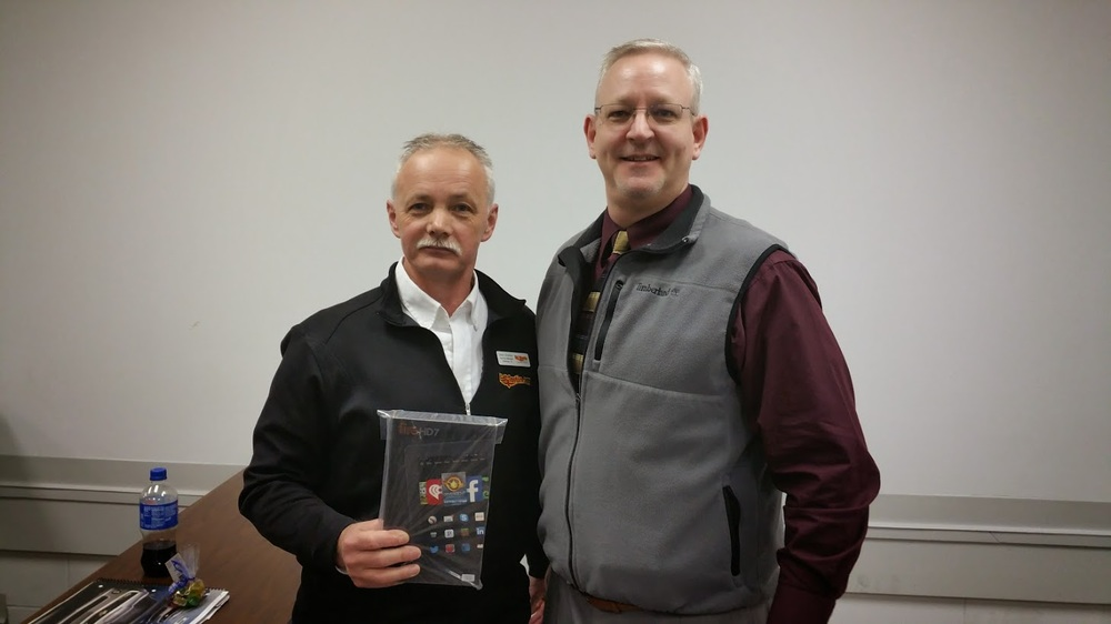 Mark Franklin and Stan Shelton A free Kindle Fire? Yes, please! Stan Shelton won the BetterCarPeople Kindle Fire Give Away.