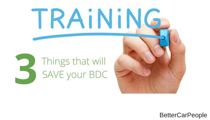 Automotive BDCs Internet Departments