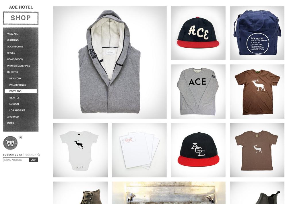 Ace Hotel  Shop