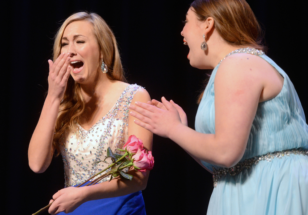 You guessed it. She was crowned Miss Green Bay Area 2015.