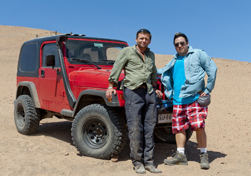 The stars ofOne Car Too Far. Photo courtesy of the Discovery Channel.