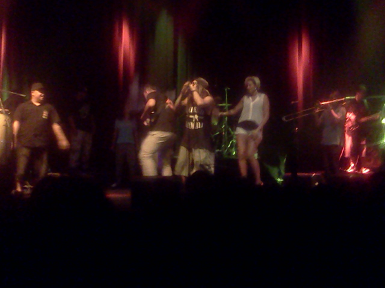 "Katchafire, joined by Maoli and Irie Love for ""Three Little Birds""!"