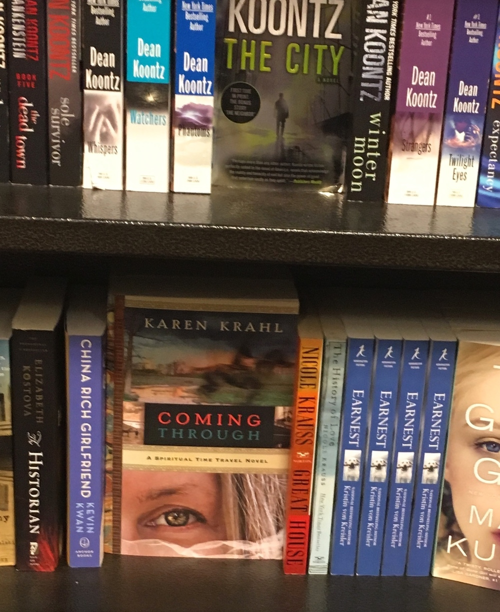 The moment when you realize you're in the Literature and Fiction department at Barnes and Nobel.