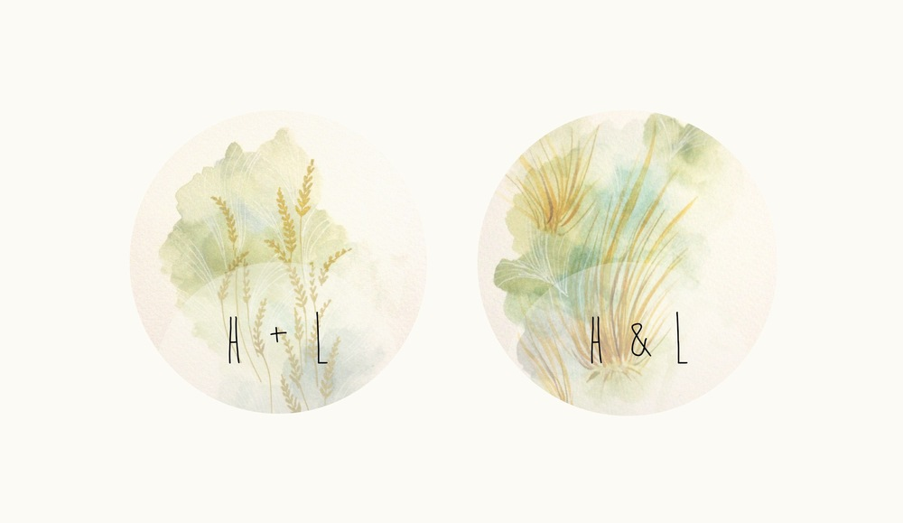 Golden Wheat on the Left, Tussock Grass on the Right (and playing around with the layout)