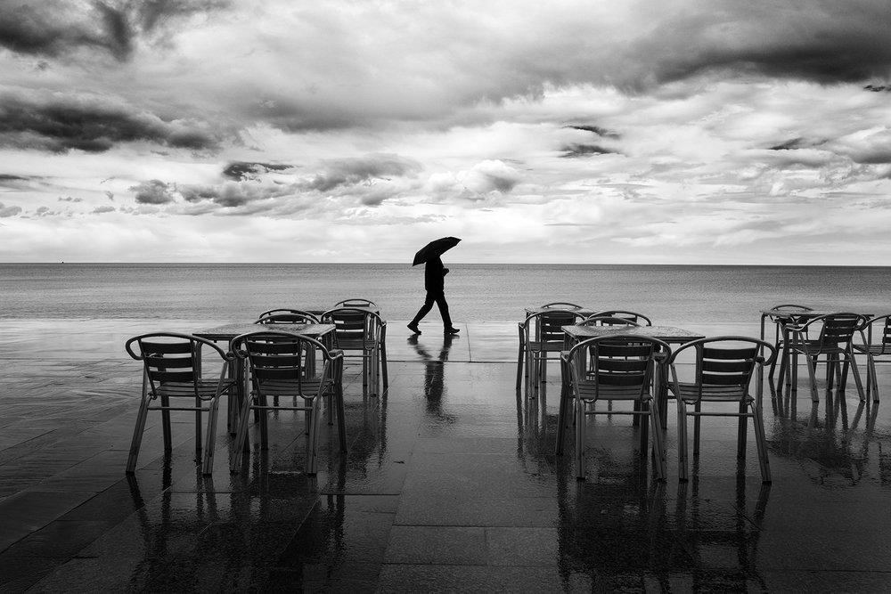 Clearing Storm, Zarautz, Spain