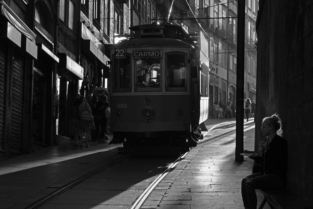 Streetcar, Porto, Portugal