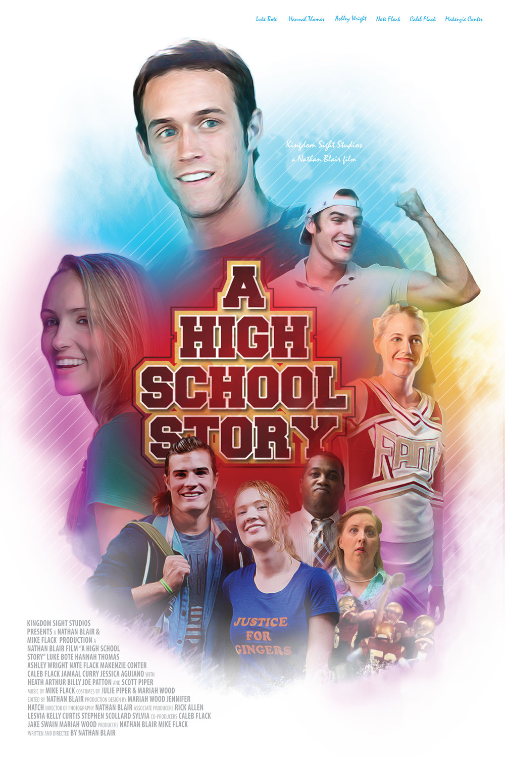 A High school story movie poster