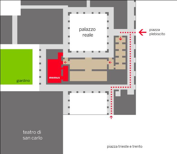 posizionamento area espositiva