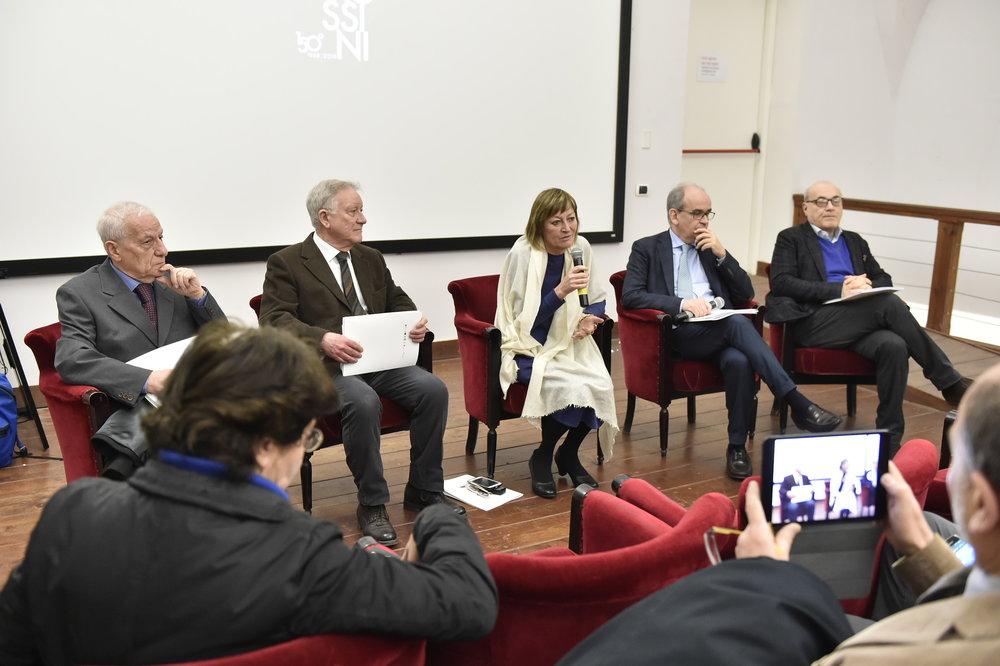 """Conferenza stampa di presentazione della mostra """"Rossini furore napoletano"""" - Memus, 14 marzo 2018."""