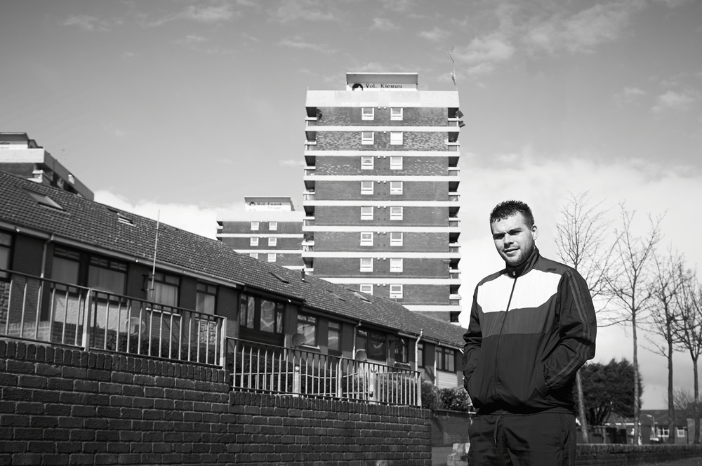 Exploring cultural divides in Belfast. Images for FASA.