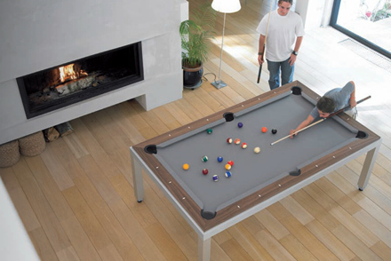 Fusion Tables Created A Multipurpose Product That Goes From Dining Table To Pool  Table In Secondsu2026now That Is Brilliant!