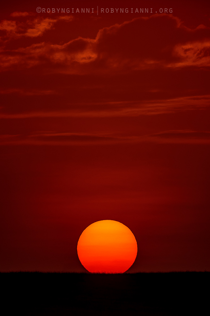 Sunset, Maasai Mara, East Africa
