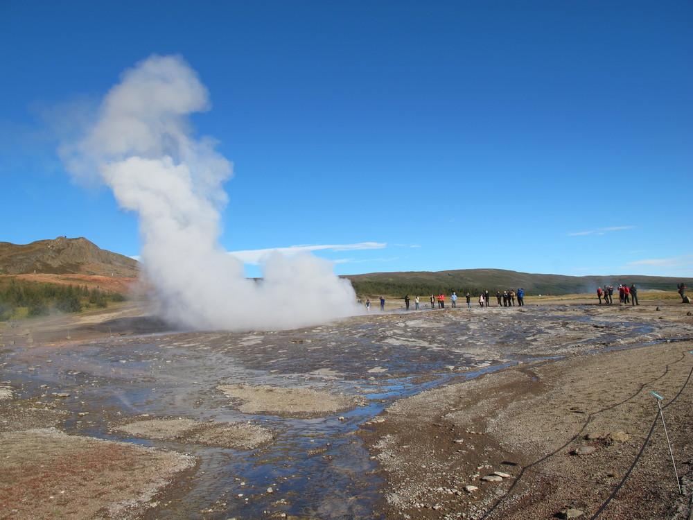 Strokkur - prime of life geyser