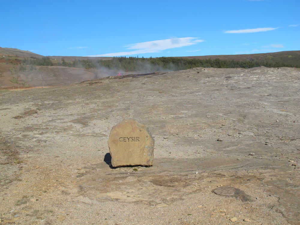 Great Geysir - retired geyser