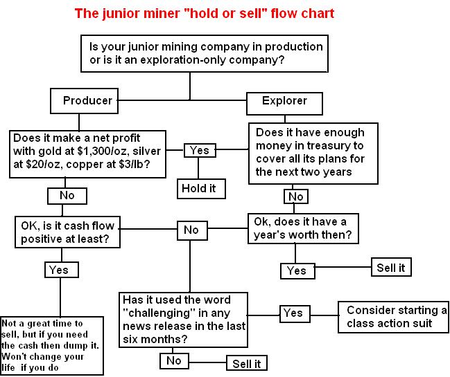 Hold or sell your junior: A guide