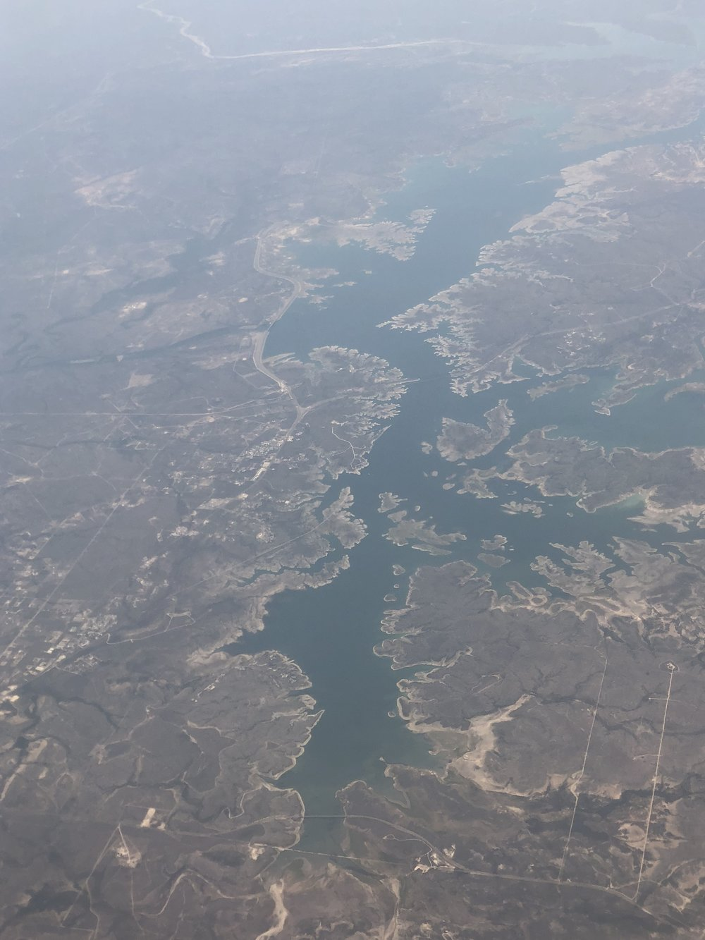 Rio Grande and the Amistad International Reservoir.