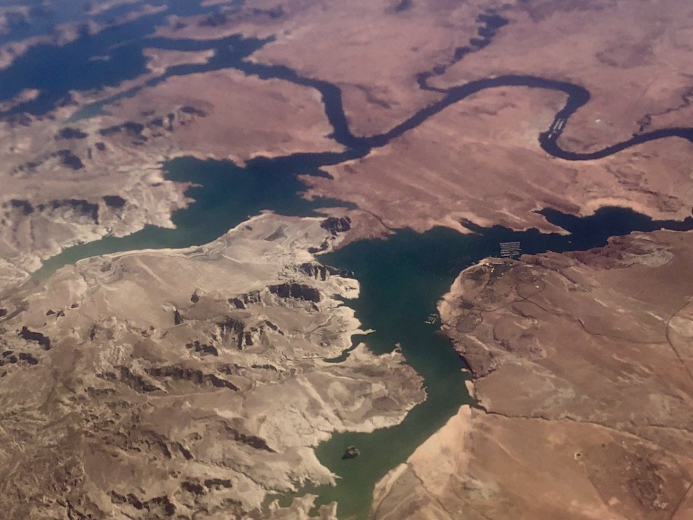 Lake Powell and Antelope Island