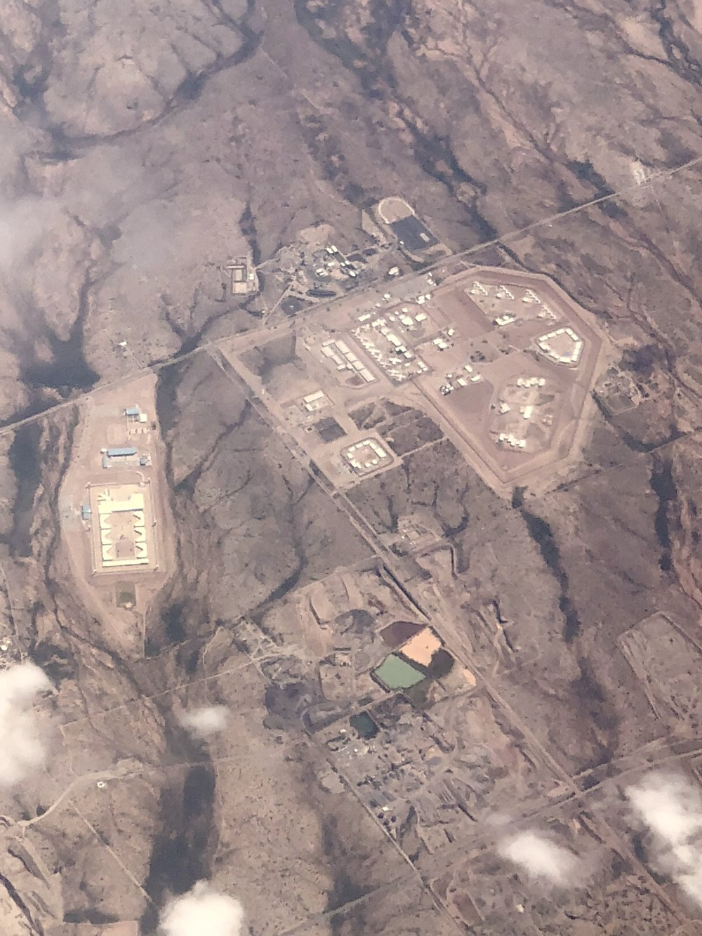 State and Federal Prison Complex outside Tuscon, AZ