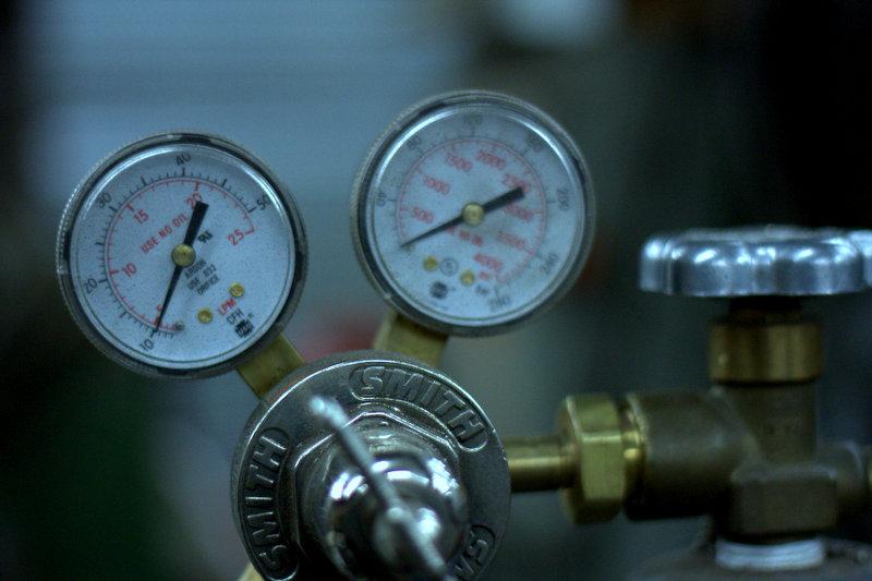 Oxygen and Acetylene.