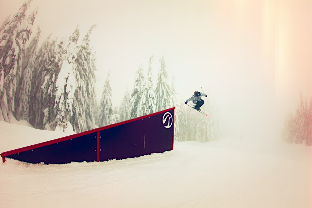 Sean Philips goes big on the Pole Jam. Photo by Andrew Santos