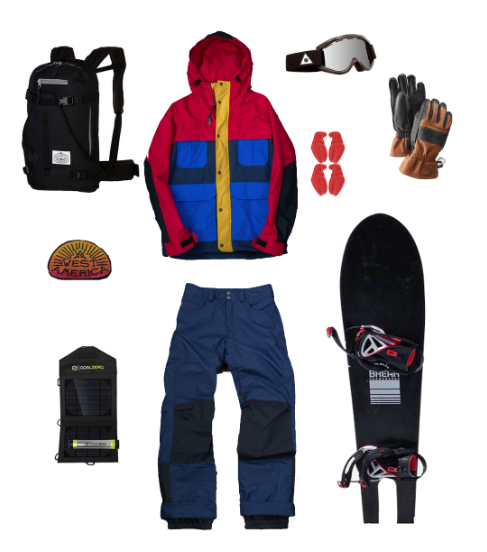 The season is in full swing and that means it's time to get radical. If you don't already have a good boarding pack pick one up, I suggest the ever stylish Riding pack from Poler Stuff and to add some flare pick up a West America patch to represent. Next help yourself to some Made in America outerwear from Owner Operator.  Pair your kit with some Ashbury Goggles and Hestra Guide Gloves to keep your extremities dry. Stay radical on a Spring Break Snowboard equipped with crab grabs (which are almost better then bindings). Lastly, pick up a solar powered goal zero because you never know when you will need to recharge.    Have a fun March!  -Caley V