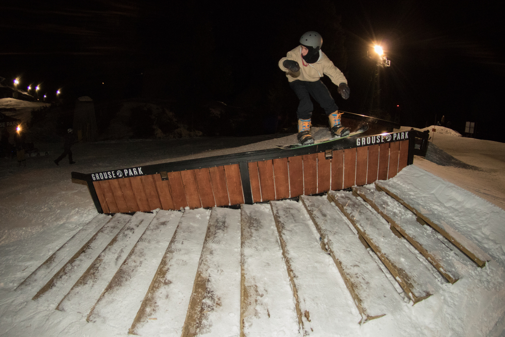 Nose Press over the stairs.