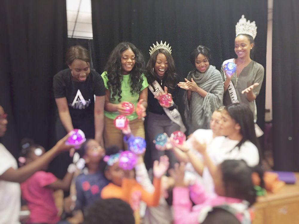 On Saturday, the Firehouse kids spent their day with volunteers from My Life Movement and pageant winners from Miss New Jersey US International, Mrs. American Beauty, Miss Africa USA, and Miss District of Columbia United States. The kids had so much fun participating in icebreakers, team-building activities, and fun arts & crafts. It was really a special day for all who attended and we are so thankful to our volunteers for being so patient and caring.