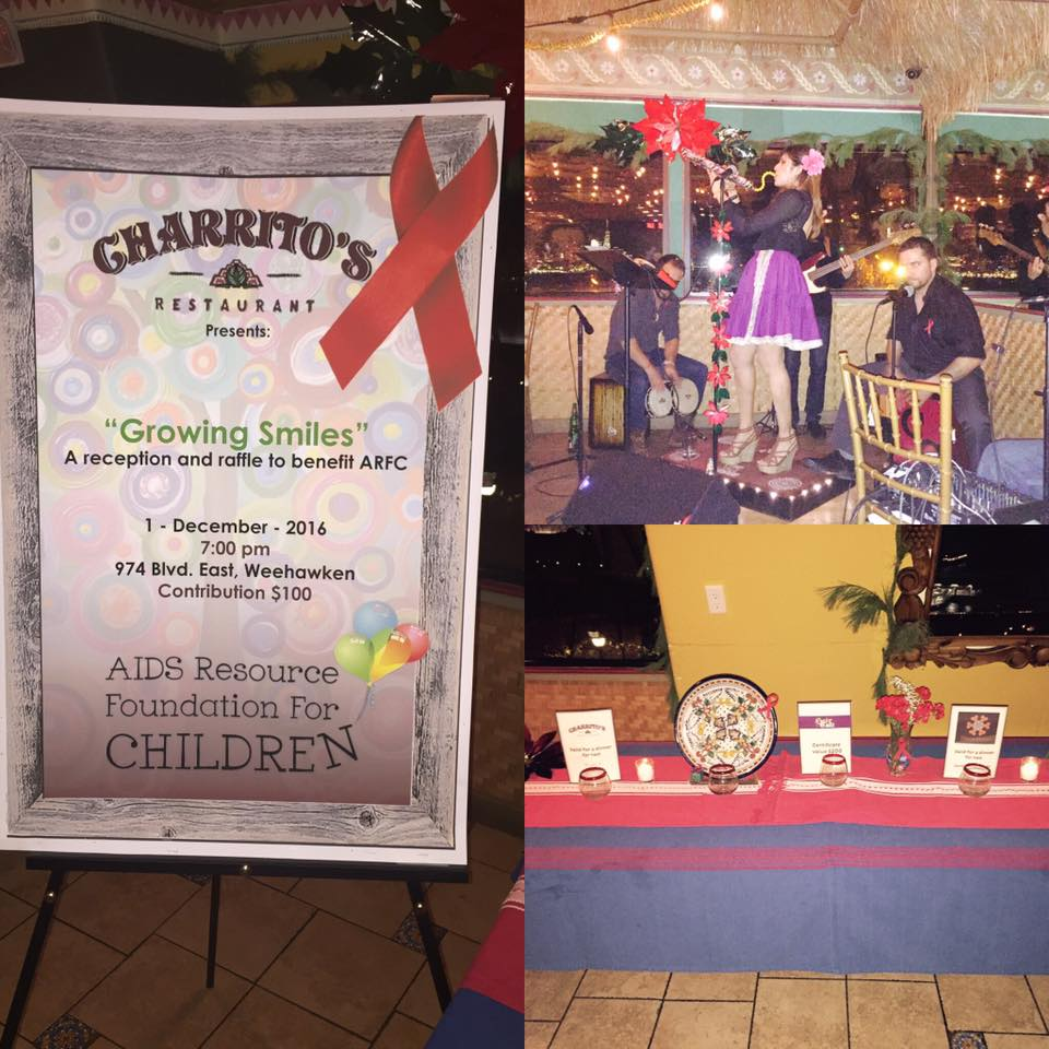 A big Thank You to Charrito's Restaurant for putting together a wonderful fundraiser in recognition of the work that we do to support individuals, families, and children affected by HIV/AIDS. Good food, good music, great people!
