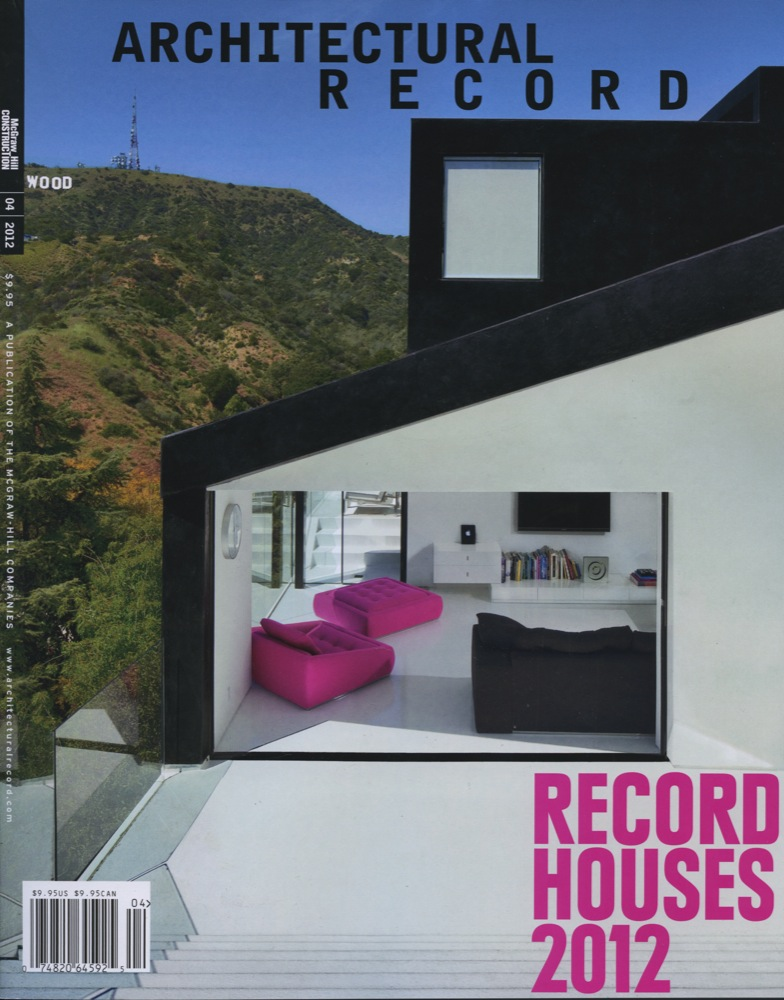 Architectural Record 2012 Wing HOUSE 2