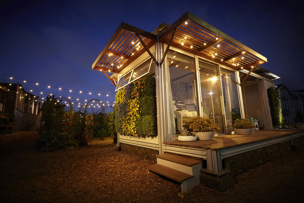 Airbnb Eco Pod David Hertz Architects Faia Amp The Studio