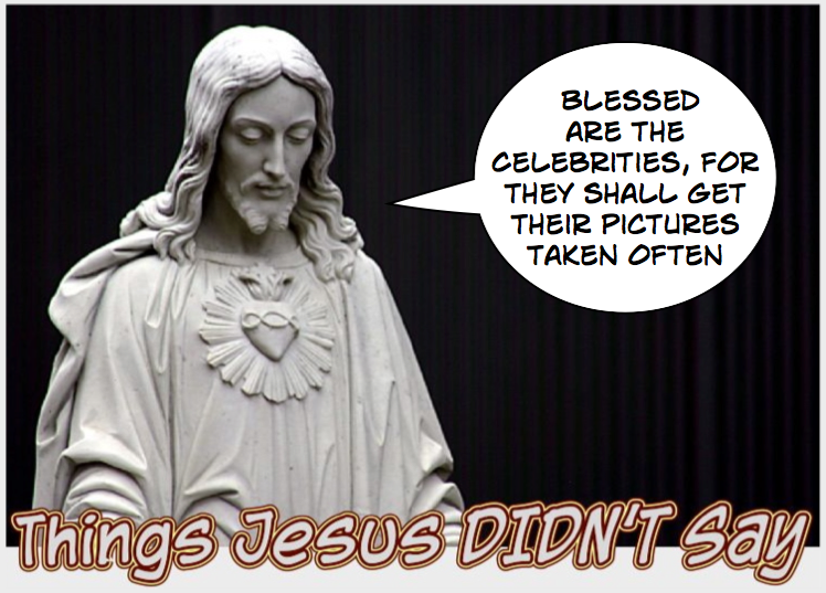 This is not one of the Beatitudes!