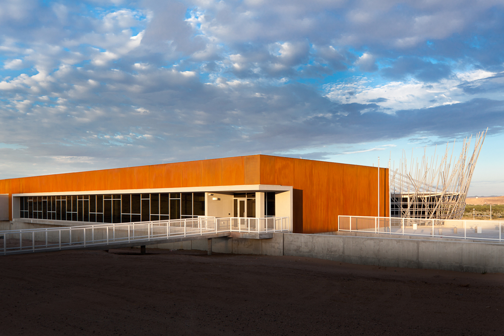 Pueblo of Isleta Tribal Services Complex looking Southwest. © Kirk Gittings